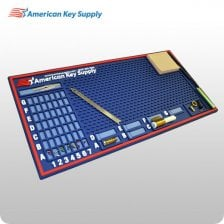 "AKS 10""x20"" Extra-Wide/Extra-Thick Deluxe Pinning Mat"