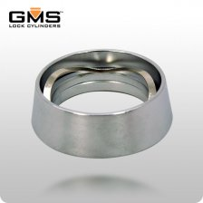 ANTI-WRENCH Mortise Cylinder Guard - Silver (GMS COL6-26D)