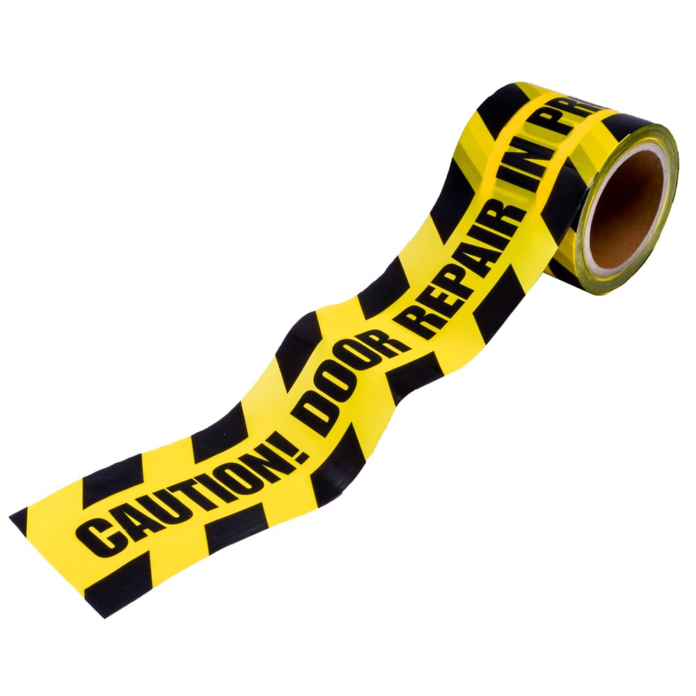 "Caution Tape - ""Door Repair In Progress"" (ACT)"