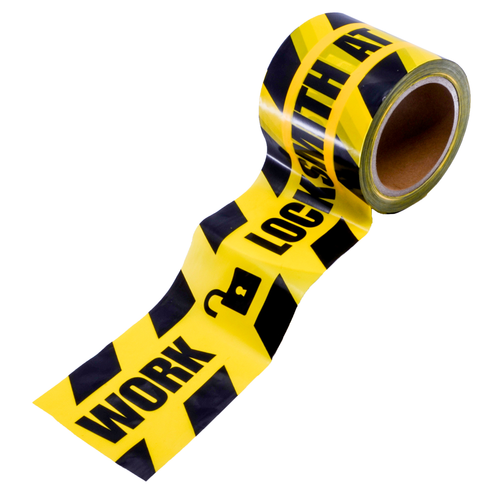 "Caution Tape - ""Locksmith At Work"" (ACT)"