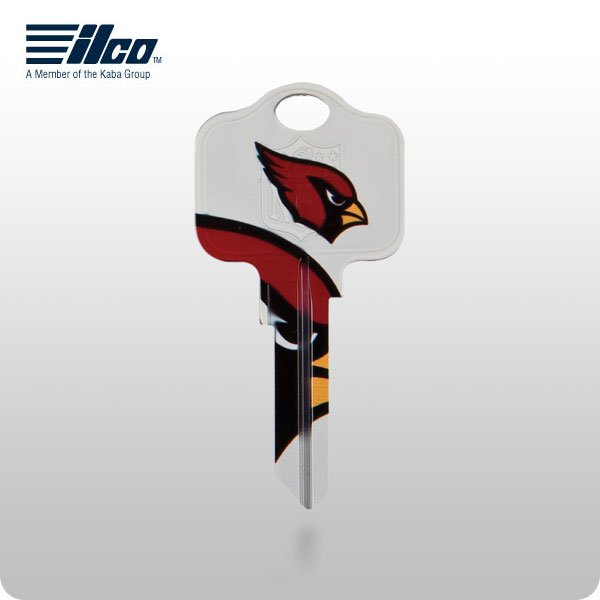 NFL Licensed Keys - ARIZONA CARDINALS - KW1/KW10 (ILCO)