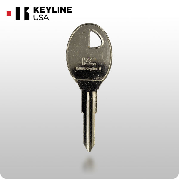 nissan da31 x210 mechanical key keyline kln bda31 0 61