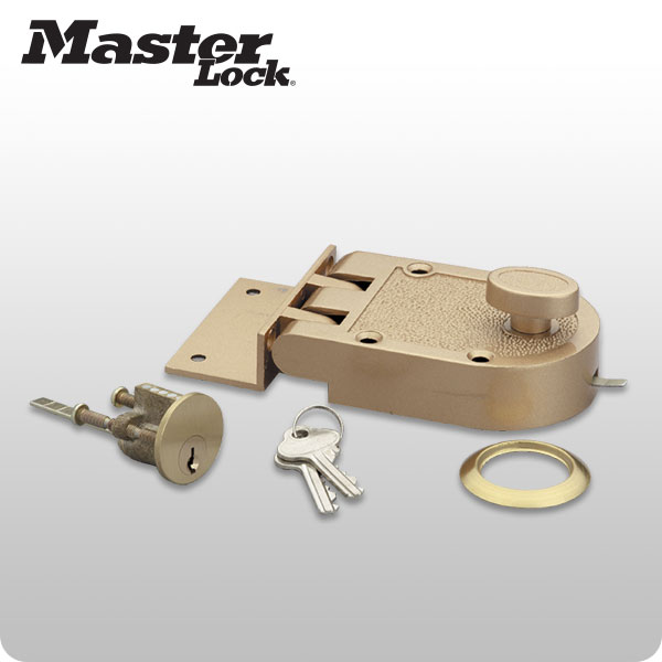 Surface mount deadbolt 5261d master lock for Surface lock