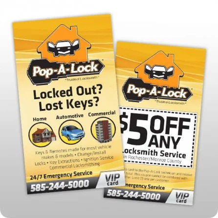 pop a lock business cards coupon qty 1000 buscards coup 1000