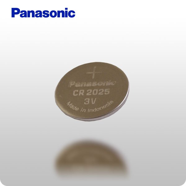 CR2025 3-Volt Lithium Battery RETAIL PACKAGING (Panasonic)